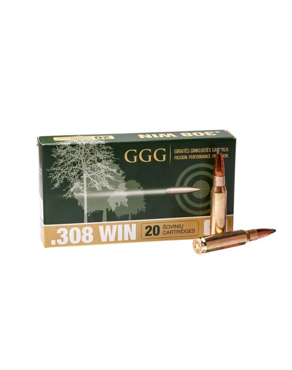 GGG кал.308Win SBT 165gr, 10.7 г