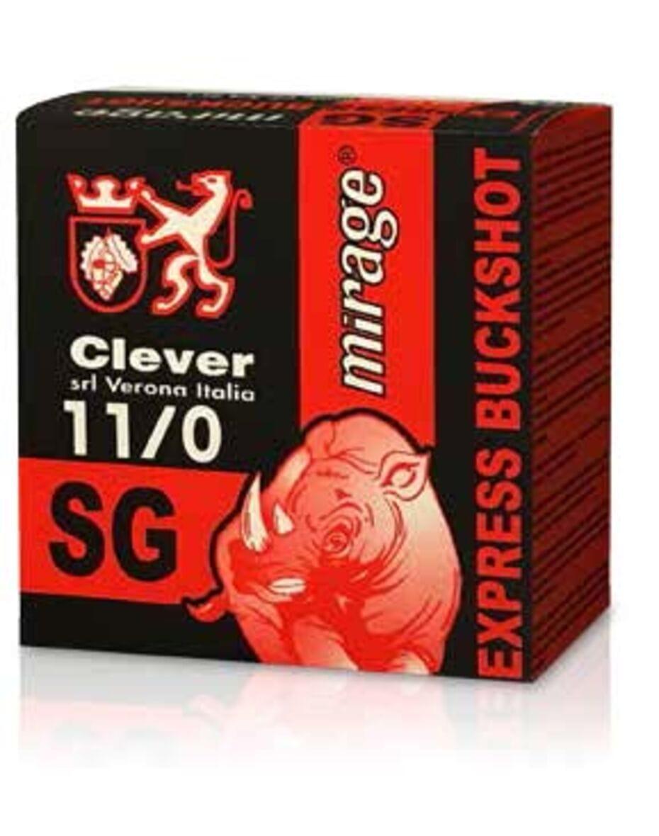 Картеч Clever Mirage T4 BUCKSHOT SG (00 BUCK) 9 PELLETS