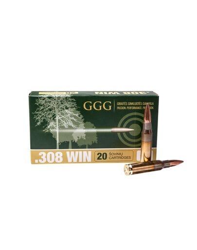 GGG кал.308Win HPBT 190gr, 12.31 г