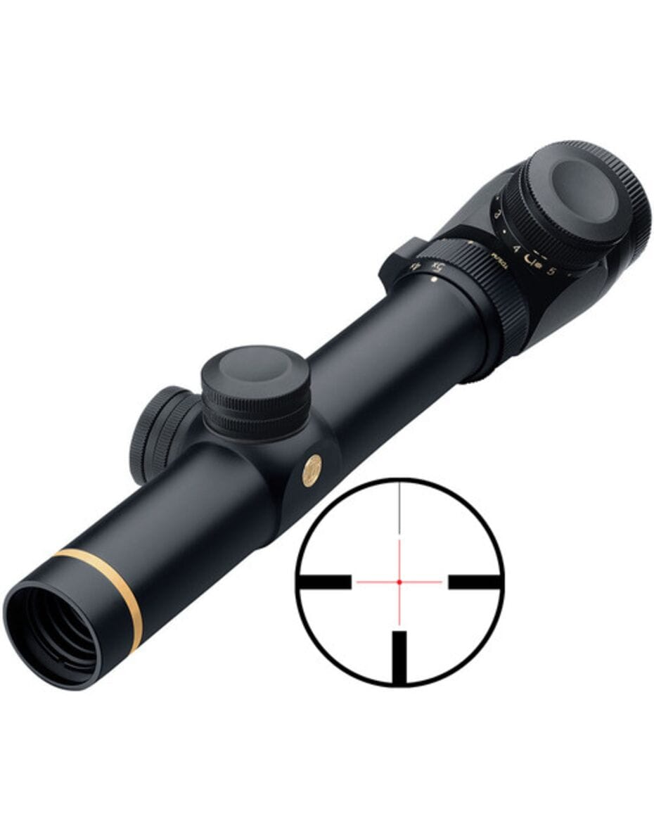 Оптичний приціл Leupold VX-3 1.5-5x20 Metric Illumin.German 4 Dot