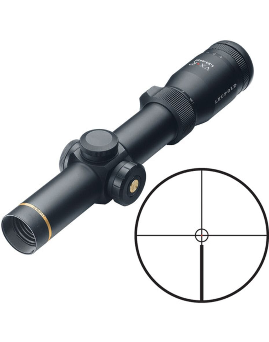 Оптичний приціл Leupold VX.R 1.25-4x20mm Circle Firedot