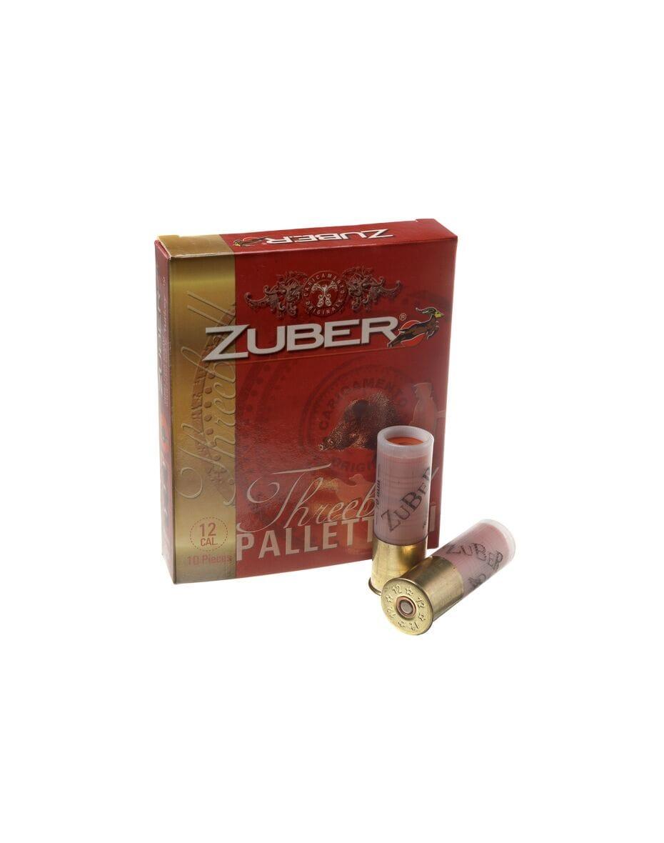 Патрон гладкоствольний Zuber Threeball кал.12 (картеч)